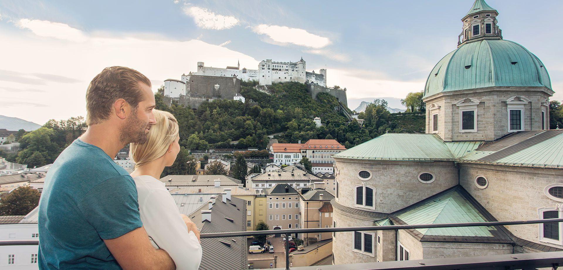 Excursion destination Salzburg city
