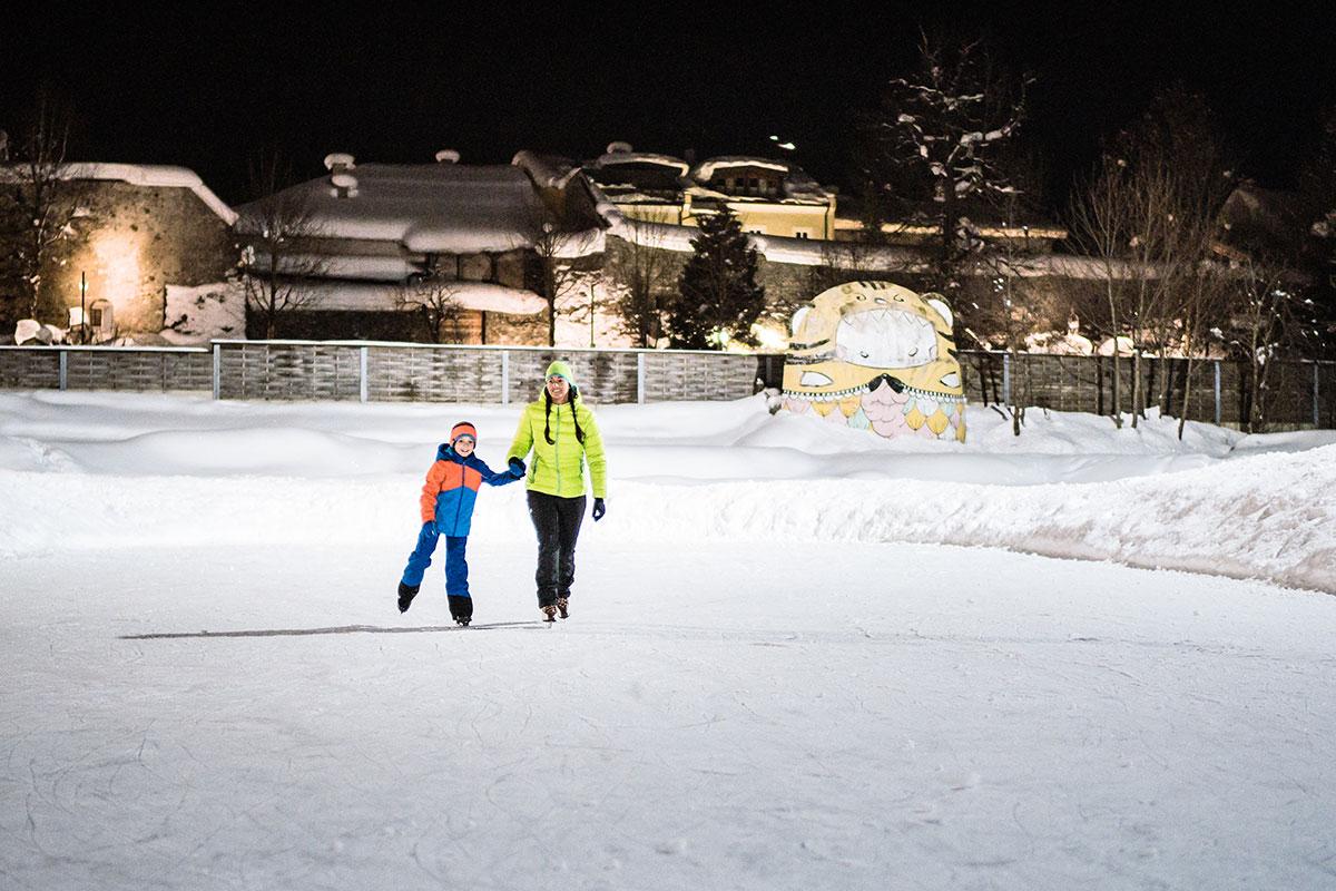 Eislaufen - Winterurlaub in Radstadt