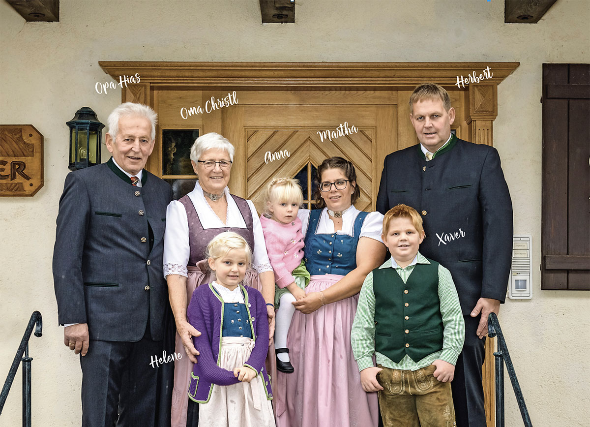 Gastgeber Familie Mayrhofer, Schobergut