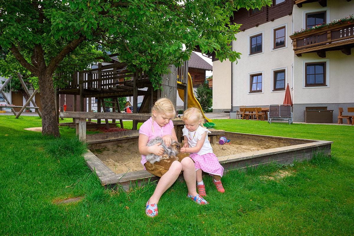 Hasen - Bauernhofurlaub in Radstadt
