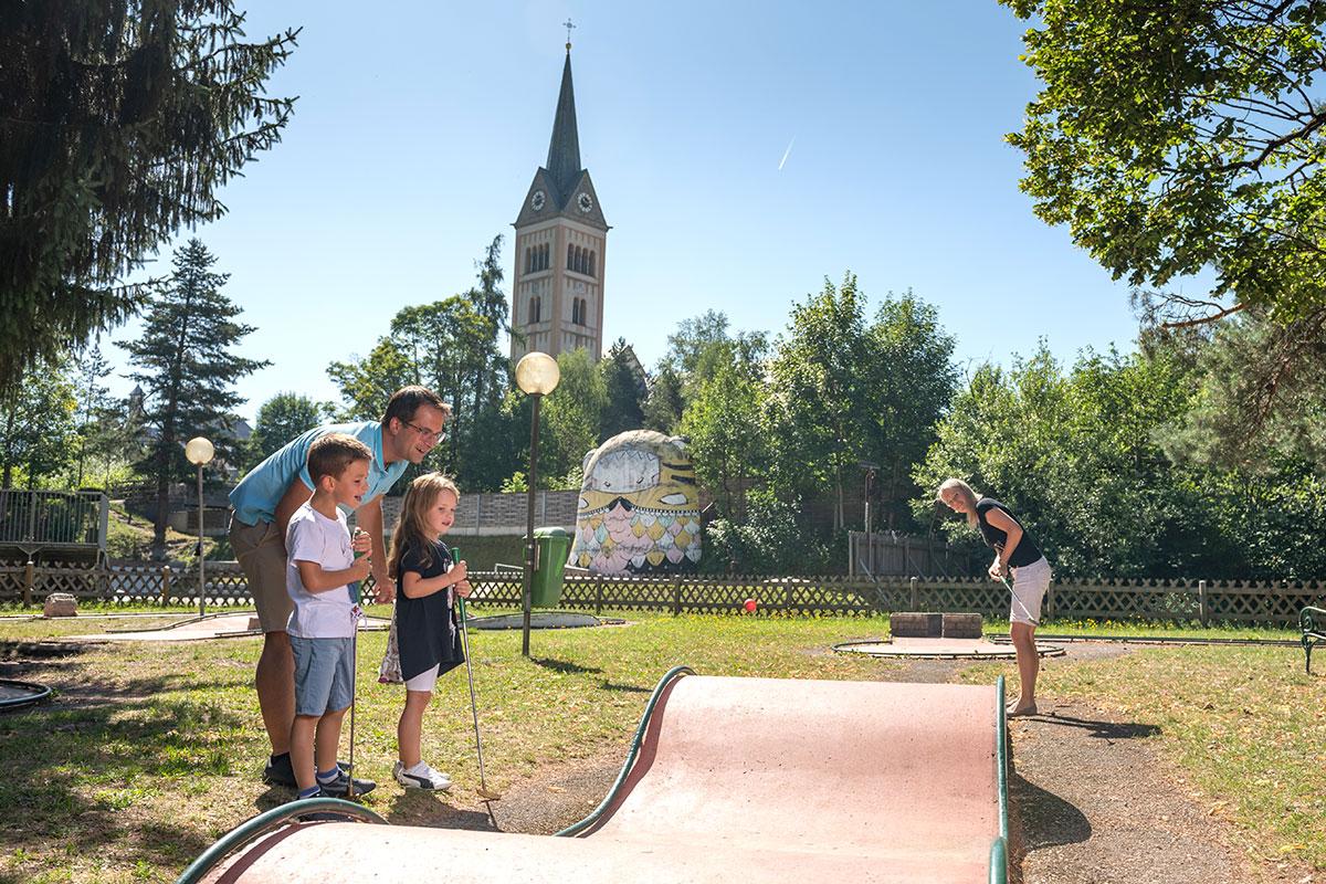 Minigolfen - Urlaub in Radstadt