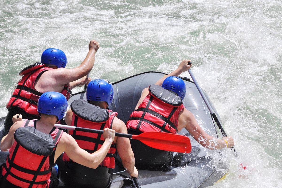 Rafting - Urlaub in Radstadt